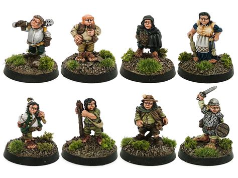midlam miniatures halflings miniature review