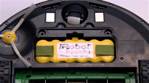 irobot roomba vacumming robot  series   remove