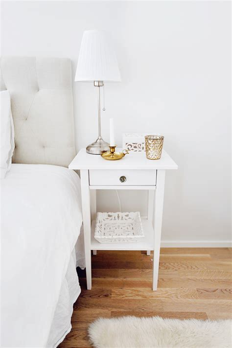 Bed With White Nightstands by Innovation Bedroom Small Storage Design With