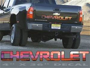 17 best images about decals on pinterest truck decals With silverado tailgate letters