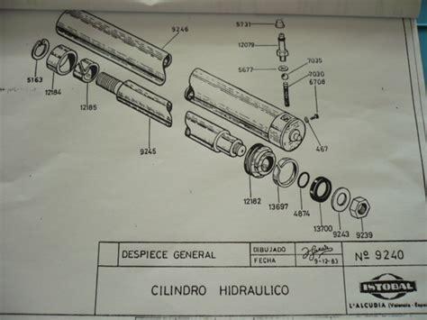 seal kit gasket hydraulic cylinder  istobal  lift