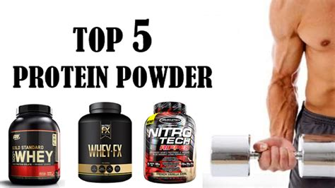 Top 5 Protein Powder In 2017  Top 5 Protein Powder
