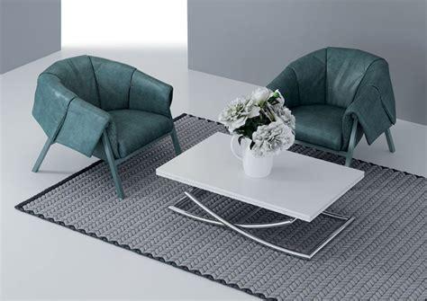 nettoyer canape cuir blanc table basse relevable et extensible à le monde du