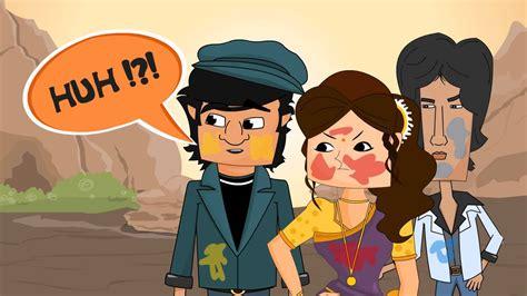 Sholay Style (gabbar Singh And Thakur