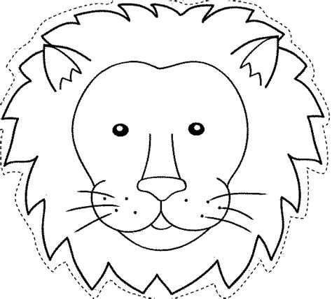 maestra de infantil caretas de animales para colorear e imprimir manualidades caretas de