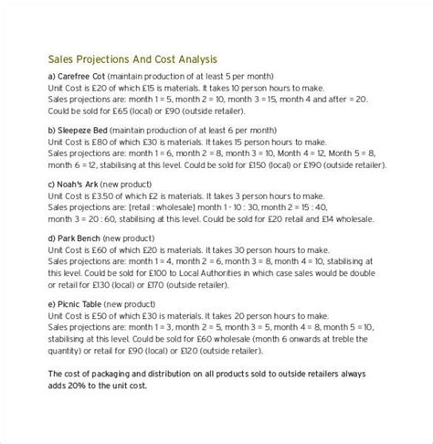 sales plan template   sample  format