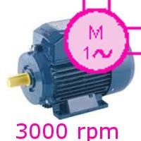 Motoare Electrice 220v by Motoare Electrice Monofazate 3000rpm 2poli 230v S1 F Ie1