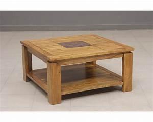 Table Basse Carrée : table basse carree en bois table basse table pliante et table de cuisine ~ Teatrodelosmanantiales.com Idées de Décoration