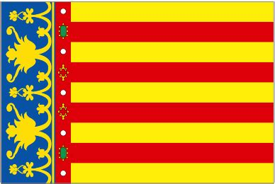 national flags  spain