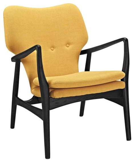 mid century modern lounge chair with arms contemporary