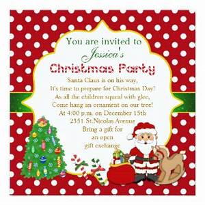 Kids Christmas Party Invitations & Announcements