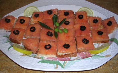 canap 233 s au saumon fum 233