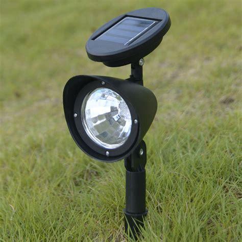 solar spot light 8x led solar spot light outdoor garden lawn spotlight
