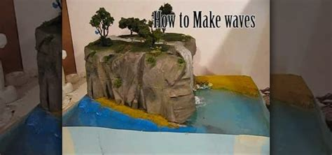 how to make water effects for a diorama 171 novelty
