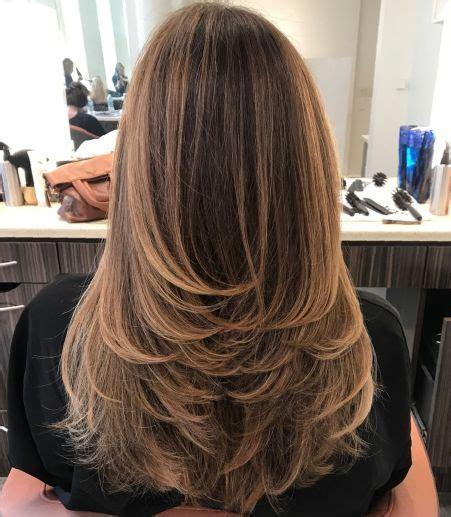 haare spliss entfernen umgedrehte stufen f 252 r langes haar lange frisuren schnitt lange haare frisuren und frisuren