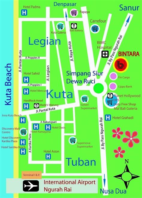 kuta map google search   road map kuta