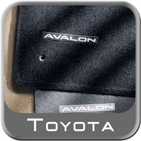 Toyota Avalon Floor Mats 2010 by 2005 2010 Toyota Avalon Carpeted Floor Mats Charcoal