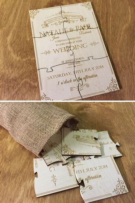 awesome alternative wedding invitation ideas