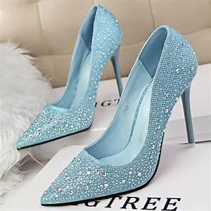 Cinderella Glass Slipper Wedding Shoes