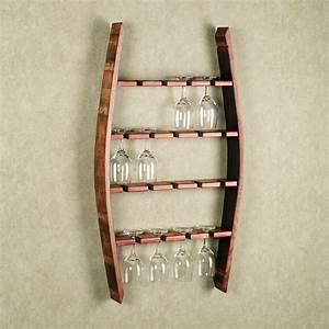 Reese Wine Glass Wall Rack