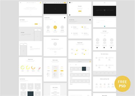 website wireframe template not 30 free wireframe style uis mockups and templates noupe