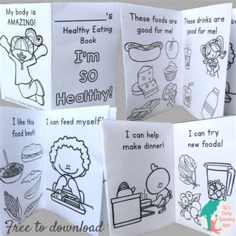 healthy and image in preschool children liz 841 | healthy foods preschool book