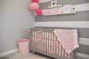Décoration Chambre De Bébé : decoration chambre de fille bebe visuel 9 ~ Teatrodelosmanantiales.com Idées de Décoration