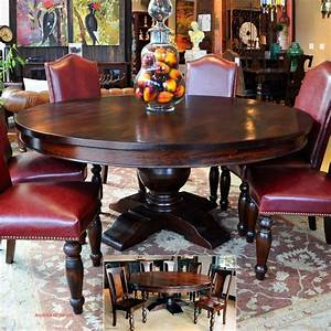 Dining, Room, Tables, Large, Round, Dining, Table, French, Country, Style
