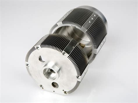 Electric Motor Housing by Custom Mechanical Components Manufacturer For The