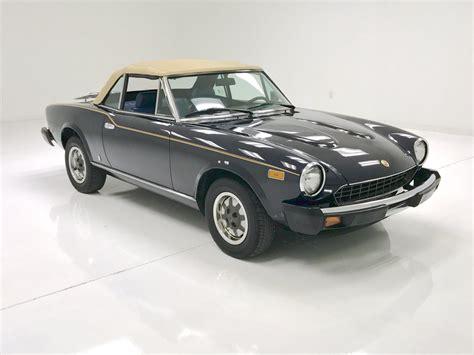 1980 Fiat Spider 2000 For Sale by 1980 Fiat Spider 2000 For Sale 92398 Mcg