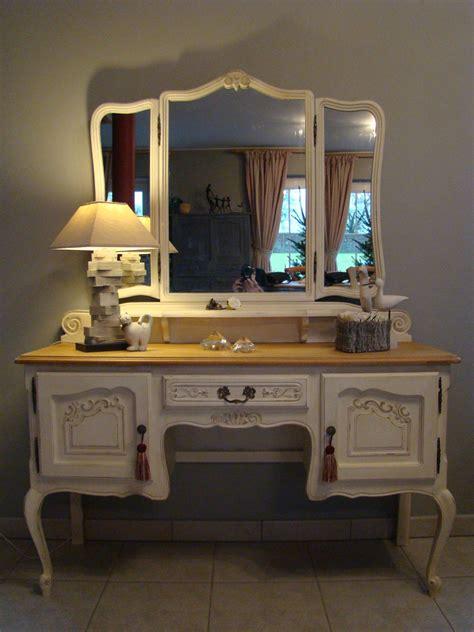 bureau coiffeuse coiffeuse meuble ancien 15 relooker meuble ancien portes