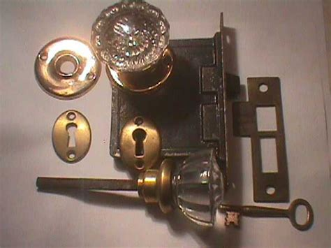 vintage door hardware antique glass door knobs and back plates robinson decor
