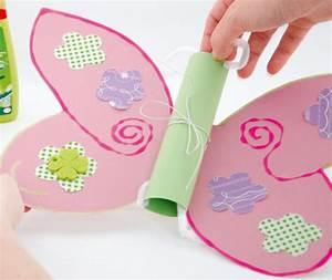 Basteln Mit Mädchen : schmetterlingseinladung zum kindergeburtstag basteln ~ Lizthompson.info Haus und Dekorationen