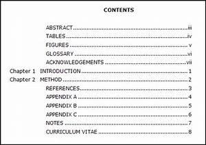 sample term paper apa format