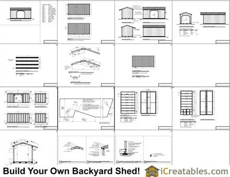 8x16 shed floor plan 8x16 firewood shed plans icreatables