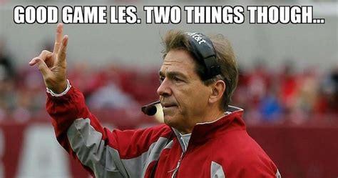 Nick Saban Memes - best sec football memes of week 10