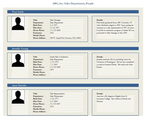profile picture template employee profile template employee profile form
