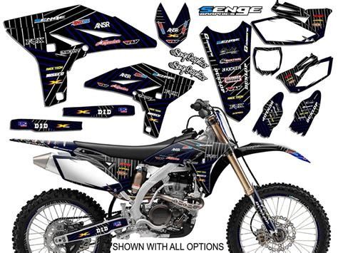 kit deco yz 125 2002 2003 2004 yz 125 250 graphics kit yamaha yz125 yz250 deco decals stickers ebay
