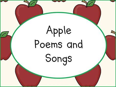apple poems and songs apples preschool theme 893 | 6688f909438ca75eccd65af85a95b30d