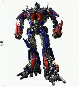 TRANSFORMERS 3 OPTIMUS PRIME Wall fathead Stickers Decal 4 ...  Transformers