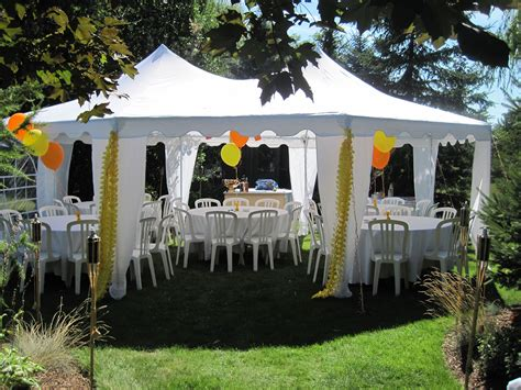 55 Outside Tents For Parties, Outdoor Graduation Parties