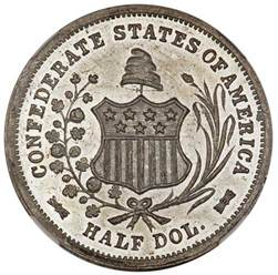 Half Dollar Confederate States of America