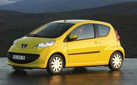 peugeot little car technische daten von peugeot 107 baureihe und baujahr