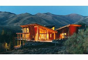 Twilight Contemporary Modern Exposed Structure Mountain ...