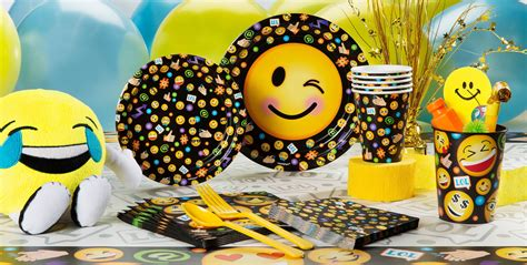 Emoji Birthday Party Ideas Games