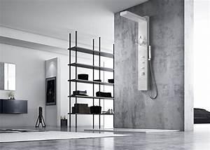 Colonne De Douche Blanche : colonne de douche blanche avec microjets colonne de ~ Dailycaller-alerts.com Idées de Décoration
