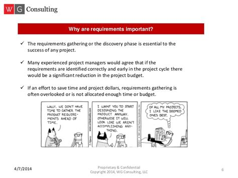 project requirements requirements gathering for project management success