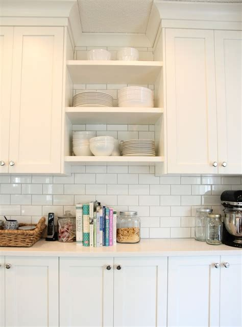 subway tile colors kitchen gives details of grout color and spacing hd tile kitchens pinterest this weekend home