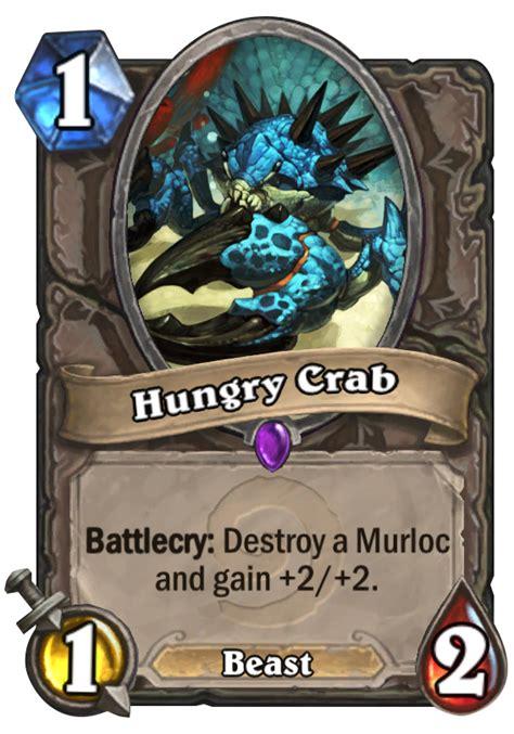 hearthstone beast deck 2014 hungry crab hearthstone card