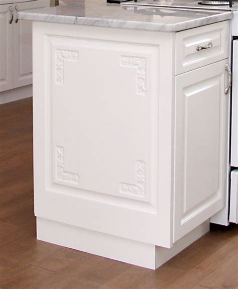 kitchen cabinet end panels bookcase cabinets with doors white kitchen cabinet end
